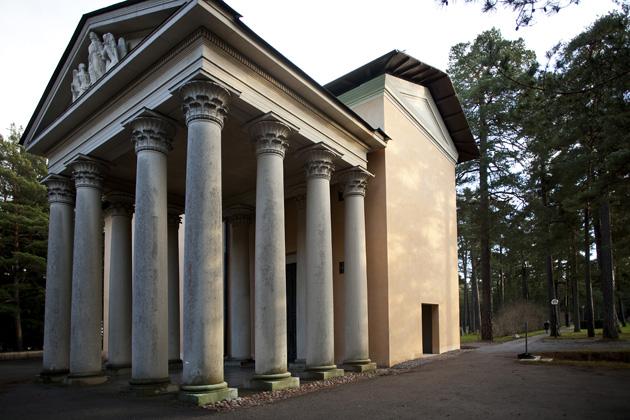 Skogskyrkogården Kapellet 3